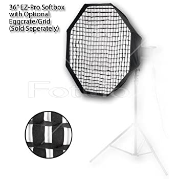 Strobe Light Pro Studio Solutions EZ Pro Beauty Dish Softbox Soft Box 32x48 with Speedring Speed Ring for Broncolor Pulso 32x48 in