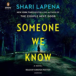 Someone We Know audiobook cover art