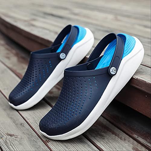 SOTUISA Men Summer Sandals for Beach Sports Women Male Slip-on-Shoes Slippers Weiblich Croc Clogs Crocks Crocse Water Mules