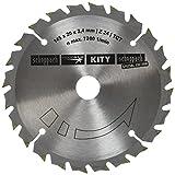 Scheppach scie circulaire hW-diamètre : 145 mm, 20 x 2,4 mm 24Z 3901803703 pour scie plongeante