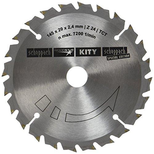 Scheppach 3901803703 HW-Kreissägeblatt Ø 145x20mm, 2,4mm, 24Z f. Tauchsäge