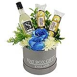 Hat Box with Ferrero & Stowells Sauvignon Blanc Crisp & Dry With Citrus Fruits (13% ABV)