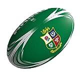 British & Irlandais Lions 2017 Officiel Supporteurs Ballon Rugby - Vert, MIDI (size 2)