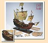AMATI 1409. Kit MAQUETA Nao Santa MARÍA. MODELISMO Naval DE Madera