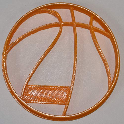 BASKETBALL SPORT TEAM COURT B-BALL GAME NBA WNBA FINAL FOUR MARCH MADNESS COOKIE CUTTER FONDANT BAKING TOOL 3D PRINTED USA PR812