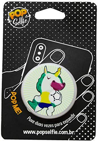 Apoio para celular - Pop Selfie - Original Unicórnio Jogador Ps243, Pop Selfie, 151488, Branco