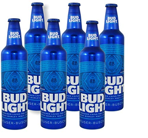 Bigbottle 12 Flaschen Bud Light 473 ml in der Aluflasche USA Beer Bier