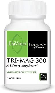 Davinci Laboratories - Tri-Mag 300, Magnesium Support, 120 Capsules, Vegetarian, Non-GMO Ingredients