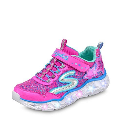 Skechers Galaxy Lights Sneaker, Pink (Pink 10920l-Npmt), 37 EU