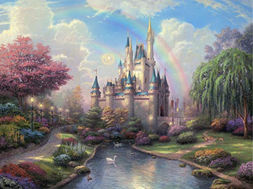 Dream Castle Wood Jigsaw Puzzle Casual Game Adult Children GiftJigsaw Puzzles for Adults 1000 Piece
