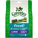 GREENIES Fresh Natural Dental Dog Treats, 12 oz....