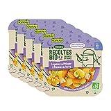 Blédina Les Récoltes Bio, Repas bébé Bio dès 12 Mois, Légumes, Pommes de Terre, 230g (Packx5)