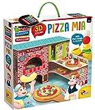 Liscianigiochi- Montessori Pizza MIA 3D e Plastilina 76833, Multicolor