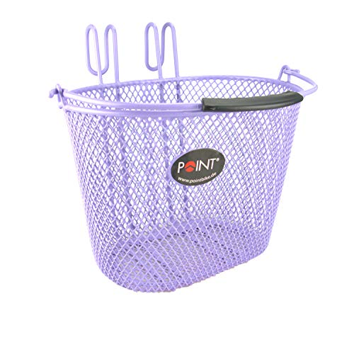 Point Kinder Fahrradkorb VR Colour, lila, 25x16x16cm, 05107805