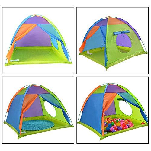 Yestter Indoor Kinder Spielen Zelt, Kinder Zelte Kinder Pop Up Zelt Leicht Schnell Zu Installieren Fördert Frühes Lernen Sozialbindung Phantasie Gebäude Für Jungen Und Mädchen