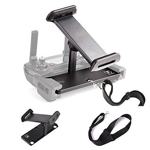 KUUQA Soporte de Soporte de Tableta Plegable de aleación de Aluminio con cordón para Mavic Pro/Mavic Air/Dispositivo de Control Remoto dji Spark (dji Mavic no Incluido)