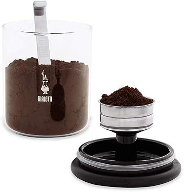 Bialetti Moka Coffee Jar, Clear, 250g