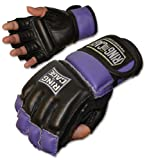 Ring to Cage Womens MMA Kickboxing Fitness Bag Gloves - Purple (Lavender) or Pink Color - Small or Medium Size (Purple, Small)