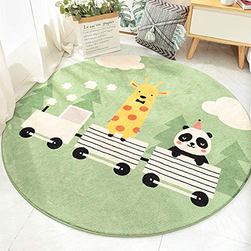 Why Choose Round Carpet Mat Indoor, Anti Slip Plush Mat Dirt Trapper Mats Mat Non-Slip Gym Play Mat ...