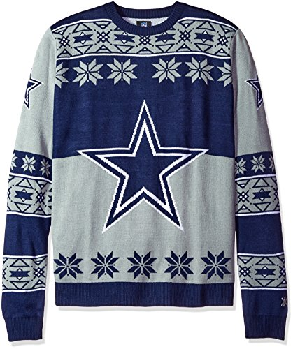 Klew Ugly Sweater Dallas Cowboys, X-Large