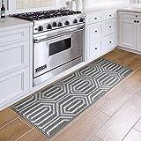 DEXI Kitchen Rug Mat Non-Slip Absorbent Runner Rug for Kitchen Floor,...