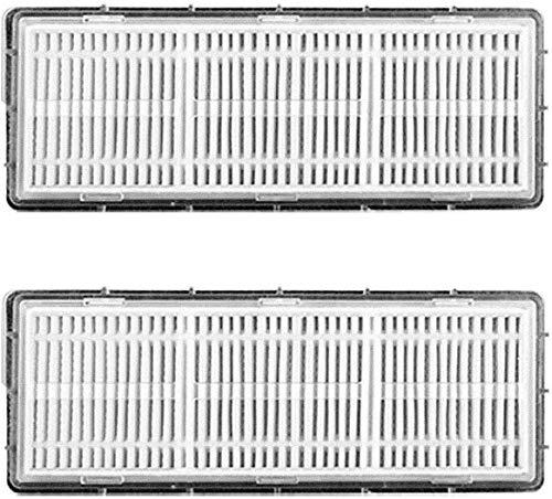 HONITUR E-Robot aspirapolvere Q6 di ricambio per aspirapolvere / filtro HEPA (2 pezzi)