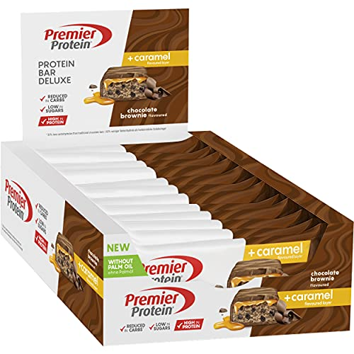 Premier Protein Bar Deluxe Chocolate Brownie 12 x 50 g