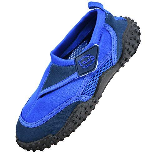 NALU Water Sports Aqua Shoes Beach Surf Wetsuit Blue Kids UK Size 11