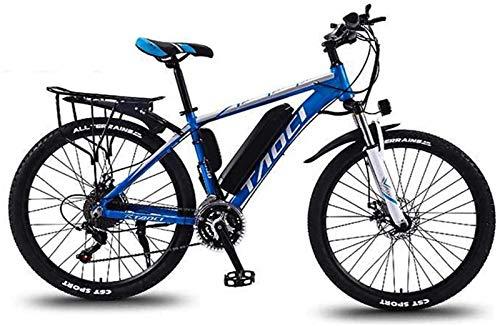GMZTT UNISEX BICICLEY Adultos de 26 pulgadas Bicicletas de montaña eléctrica, marco...