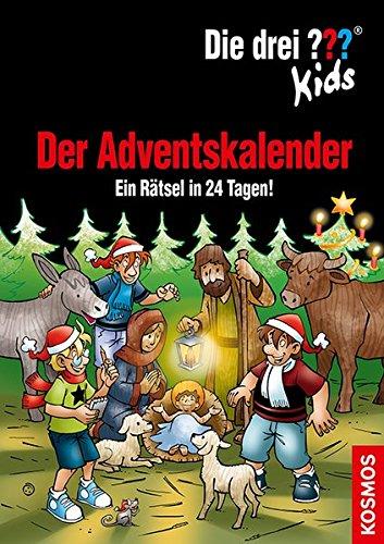 Die drei ??? Kids, Der Adventskalender: Ein Rätsel in 24 Tagen! Extra: Stickerbogen
