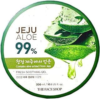 [The Face Shop] Jeju Aloe Fresh Soothing Gel 300ml Aloe 99%