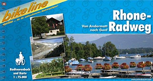 Rhone - Radweg (Bikeline Radtourenbücher)