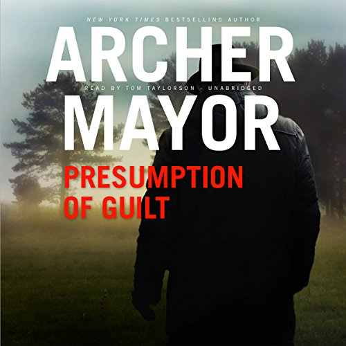 Presumption of Guilt audiobook cover art