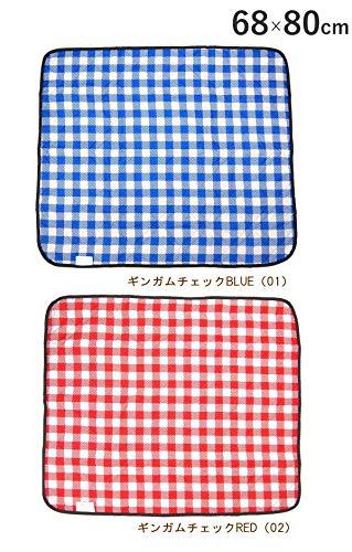 SweetPea「スイートピー」レジャーシート厚手折りたたみ1人~8人用防水洗える200×200cm/130×175cm/68×80cm(RED,68×80cm)