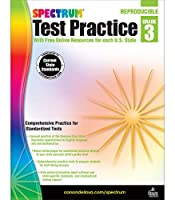 Test Practice, Grade 3: With Free Online Resources for Each U.s. State (Spectrum Test Practice)