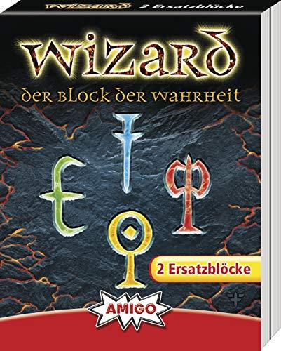 AMIGO Spiel + Freizeit 06902 Wizard Kartenspiel Ersatzblock