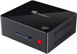Beelink X55 Windows 10 Mini PC with Intel Gemini Lake Pentium J5005 4K60Hz 8GB LPDDR4/128GB SSD/Dual HDMI 2.0/Dual Wi-Fi/Gigabit Ethernet/Fan