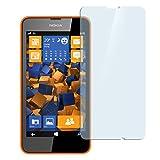 mumbi Hart Glas Folie kompatibel mit Nokia Lumia 630/635 Panzerfolie, Schutzfolie Schutzglas(1x)