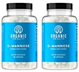 D-Mannose Capsules - 600mg D Mannose Powder per Capsule with Cranberry and Dandelion Extract to Support Normal Urinary Tract Health - 180 Veggie Capsules