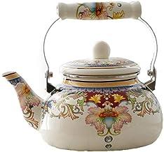 Koffie Sets Porselein Melk Theepot, 1,5 Liter Email Ketel, Inductie Fornuis Waterkoker, Waterkoker, Thee Waterkoker, Induc...