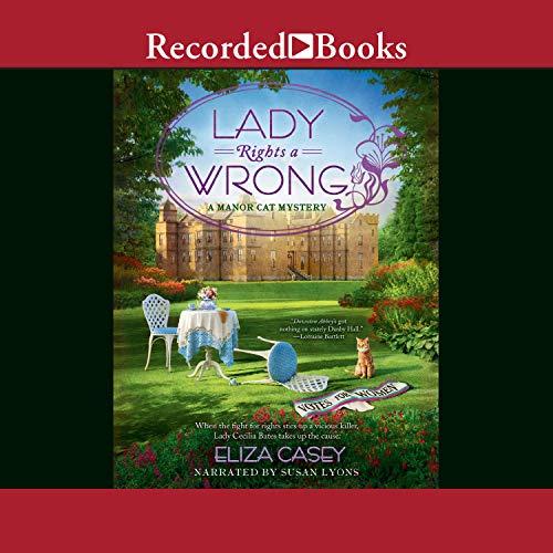 Lady Rights a Wrong audiobook cover art