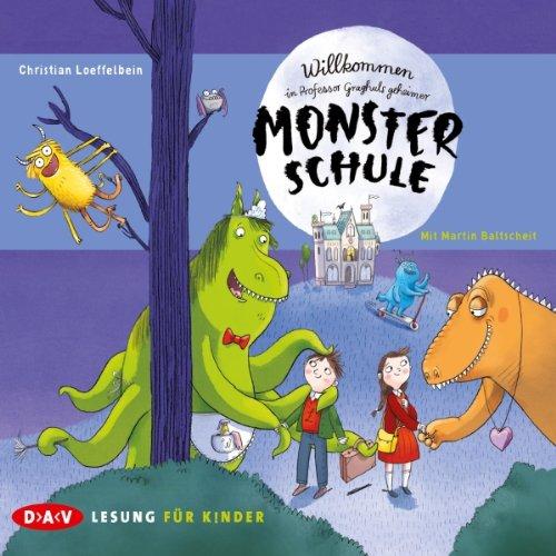 Willkommen in Professor Graghuls geheimer Monsterschule cover art