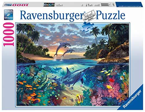 Ravensburger Puzzle 19145 - Korallenbucht - 1000 Teile Puzzle für Erwachsene und Kinder ab 14 Jahren, Puzzle mit Unterwasserwelt-Motiv