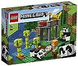 LEGO21158MinecraftElCriaderodePandasJuguetedeConstrucciónconMiniFiguray2PandasyOceloteparaNiños+7años