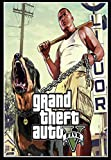 MZCYL Carteles E Impresiones Lienzo Pintura Grand Theft Auto V Poster Videojuego GTA 5 Sexy Beach Wall Art Decoración Habitación Decoración para El Hogar Sin Marco 40cmx60cm WE934R