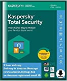 Kaspersky Total Security Latest Version- 1 User, 1 Year (Code emailed in 2 Hours - No CD)