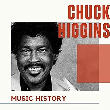Chuck Higgins - Music History