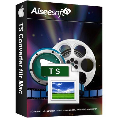 mächtig Vollversion TS Video Converter MAC (Produktschlüssel ohne Medien)