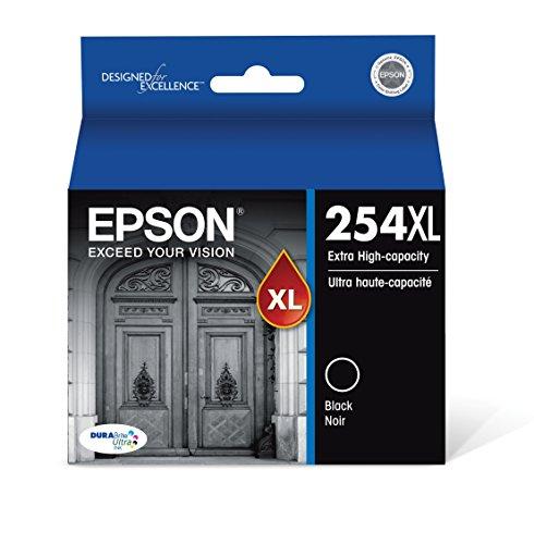Epson DURABrite Ultra 254XL Extra High-Capacity Ink Cartridge, Black (T254XL120)