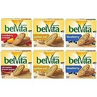 30-Pack Belvita 4 Flavors Breakfast Biscuits Variety Pack